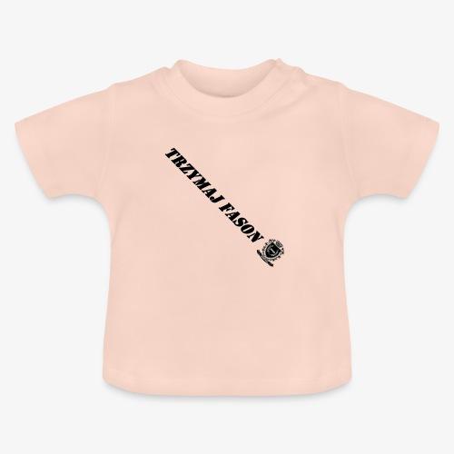 logo napis2 - Koszulka niemowlęca