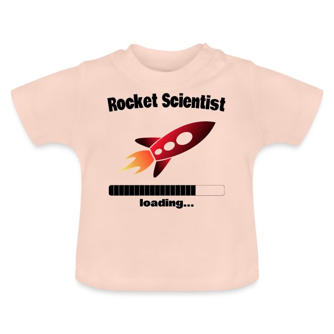 Rocket Scientist loading... Baby Motiv