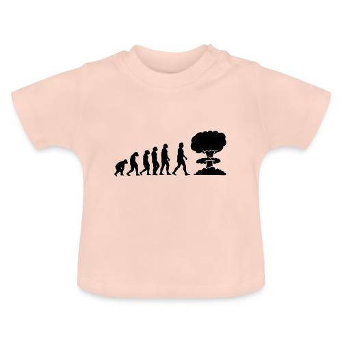 Evolution Nucléaire ou comment l humanité finira - T-shirt Bébé