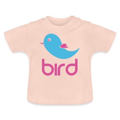 BIRD=PÁJARO - Camiseta bebé