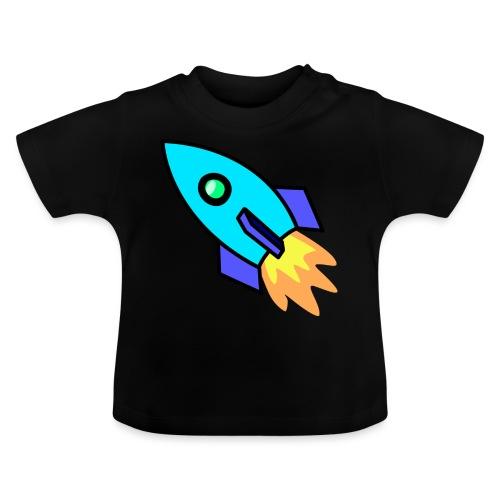 Blue rocket - Baby T-Shirt