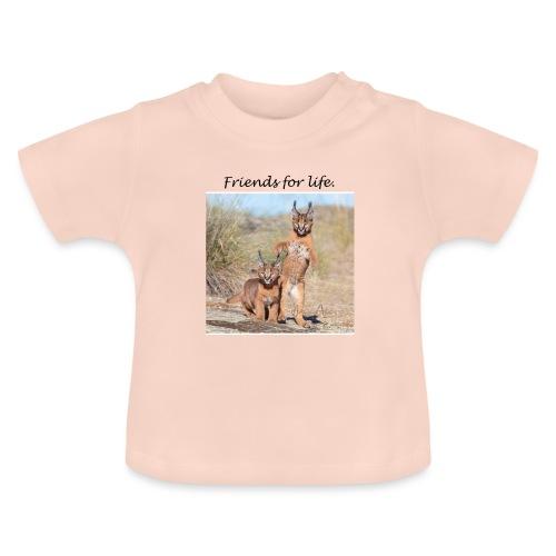 Amigos para la vida - Camiseta bebé