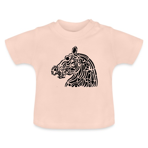 Horse - cheval tribal - T-shirt Bébé