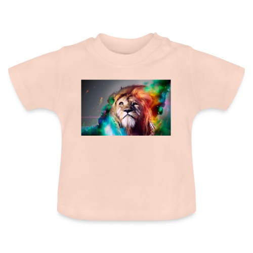 hero lion - T-shirt Bébé