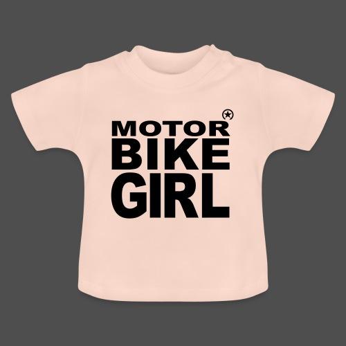 Dziewczyna motocykl - Koszulka niemowlęca
