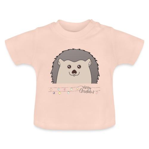 Hed wünscht Merry Christmas - Baby T-Shirt