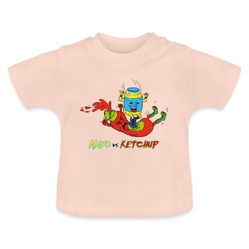 Mayo VS Ketchup - Maglietta per neonato