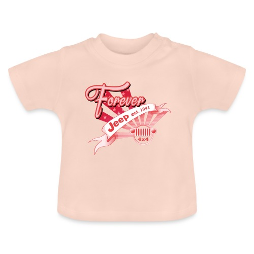 Forever Jeep - Baby-T-shirt