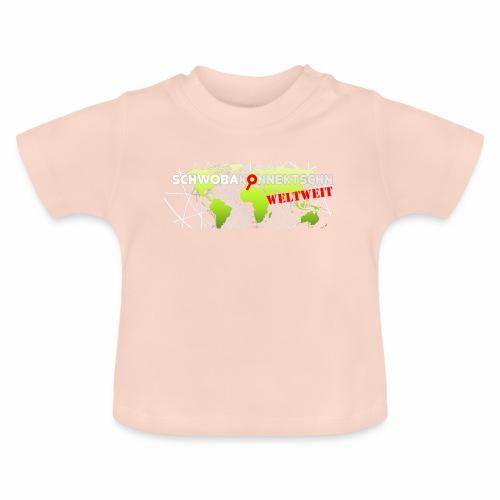 Schwobakonnektschn Logo (transparent) - Baby T-Shirt