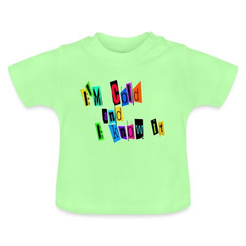 Am Cold - Vauvan t-paita