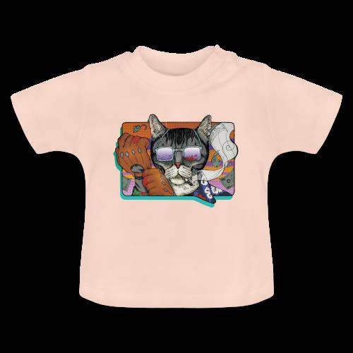 Crime Cat in Shades - Koszulka niemowlęca