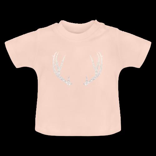 Jäiset poronsarvet - Vauvan t-paita