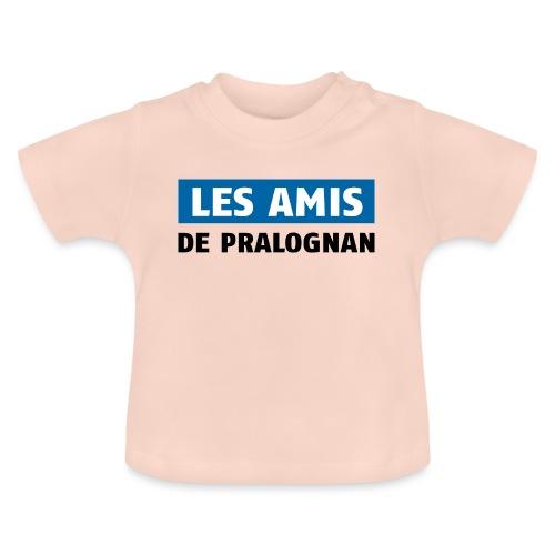 les amis de pralognan texte - T-shirt Bébé