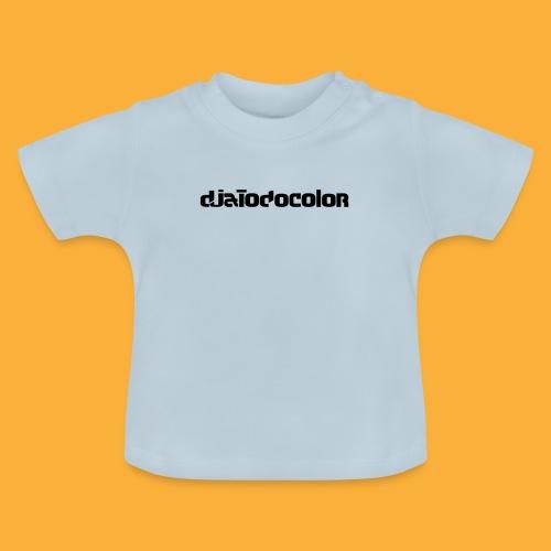 DJATODOCOLOR LOGO NEGRO - Camiseta bebé