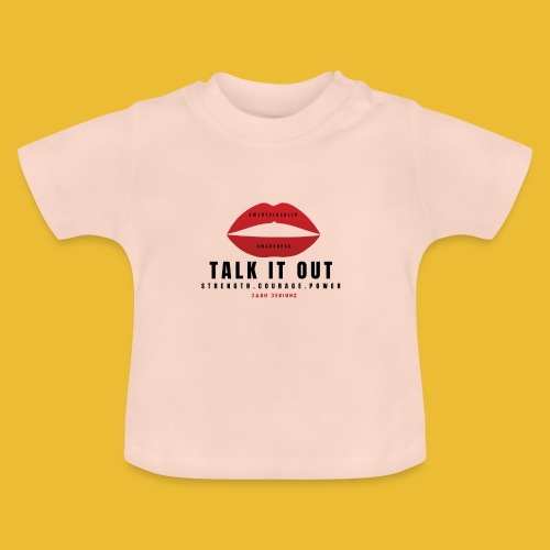 Mental Health Awareness (Talk It Out) - Baby T-Shirt