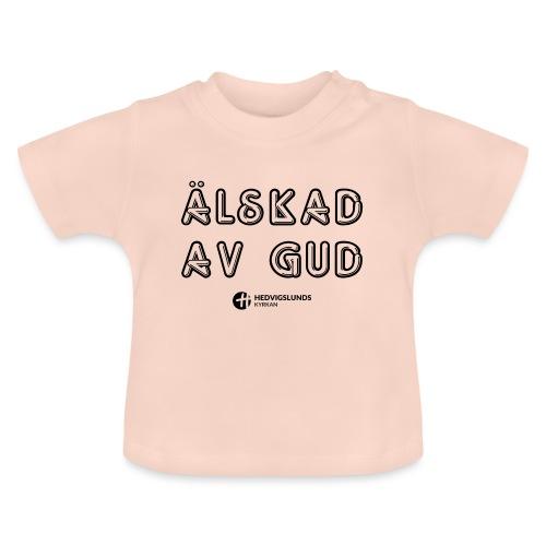 Älskad av Gud - Baby-T-shirt