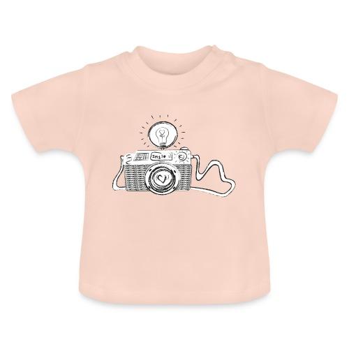 S33 camera-smile - Baby T-Shirt