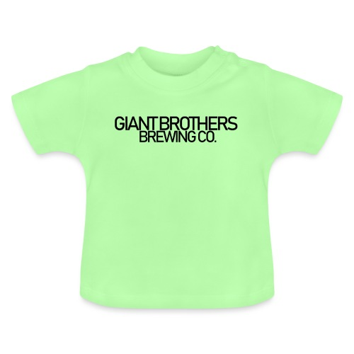 Giant Brothers Brewing co SVART - Baby-T-shirt