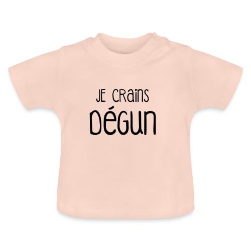 Humour Citation Marseille JE CRAINS DEGUN  - T-shirt Bébé