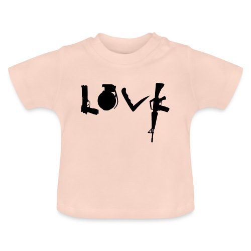 Love weapons - Baby T-Shirt
