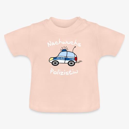 nachwuchs polizistin weiss - Baby T-Shirt