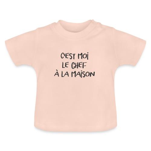 C'est moi le chef à la maison ! - T-shirt Bébé