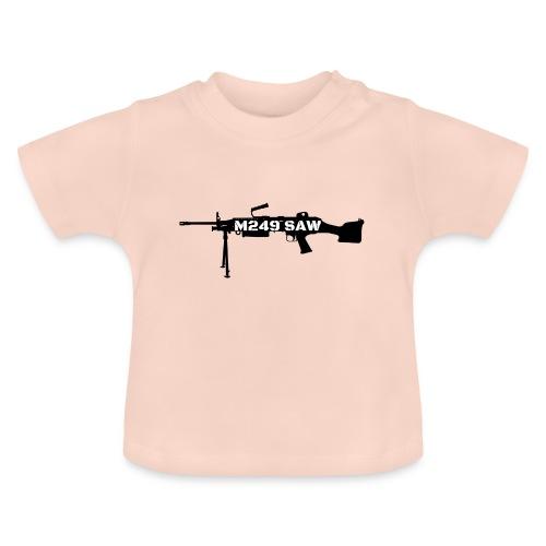 M249 SAW light machinegun design - Baby T-shirt