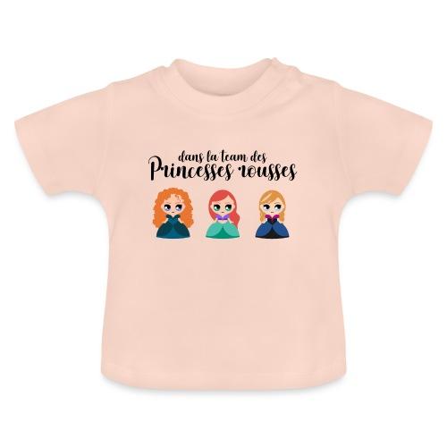 Team princesses rousses - T-shirt Bébé