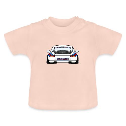 White Sports Car Maritini Livery - Baby T-Shirt