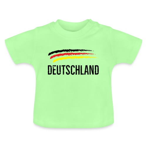Deutschland, Flag of Germany - Baby T-Shirt