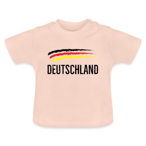 Deutschland, Flag of Germany - Baby T-Shirt