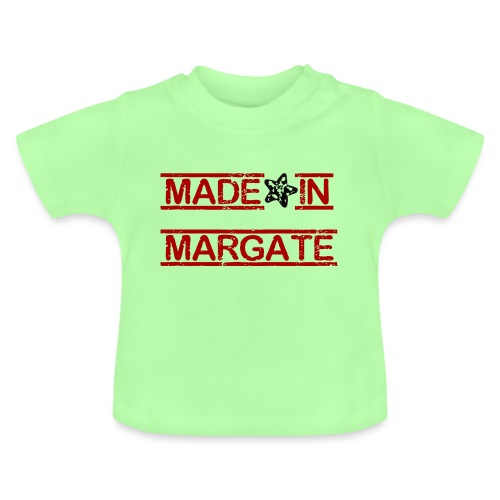 Made in Margate - RED - Baby T-Shirt