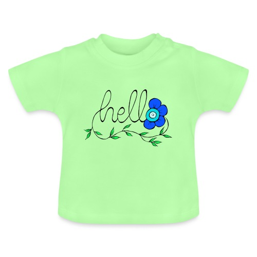 Hello Blume. - Baby T-Shirt