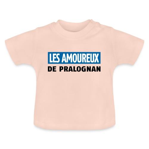 les amoureux de pralognan texte - T-shirt Bébé