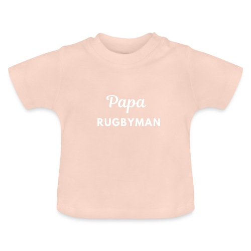 Papa rugbyman - T-shirt Bébé