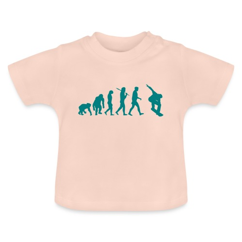 evolution_of_snowboarding - Baby T-shirt