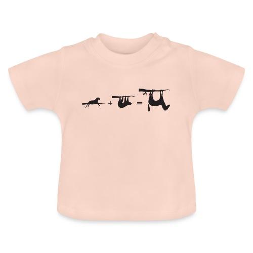 Lui paard Formule Luipaar - Baby T-shirt