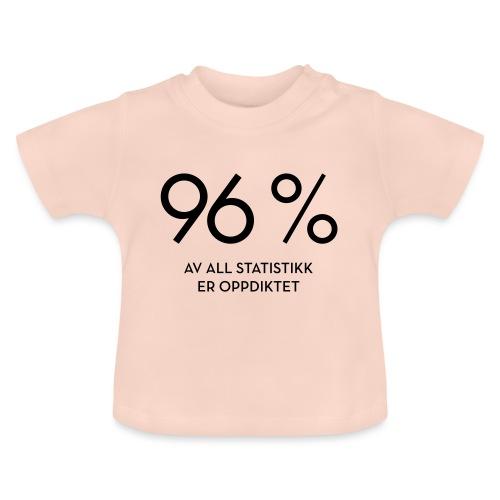 Statistikk-sprøyt (fra Det norske plagg) - Baby-T-skjorte