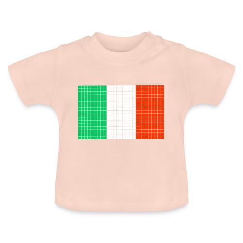 italian flag - Maglietta per neonato