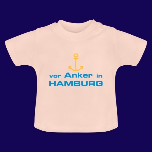Vor Anker in Hamburg - Baby T-Shirt