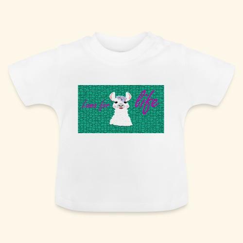 lama / alpaca - Baby T-Shirt