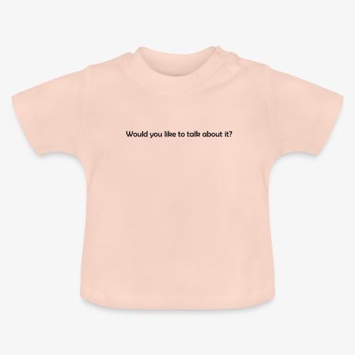 talk - Koszulka niemowlęca
