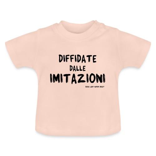Boss Lady Vaper Docet - Maglietta per neonato