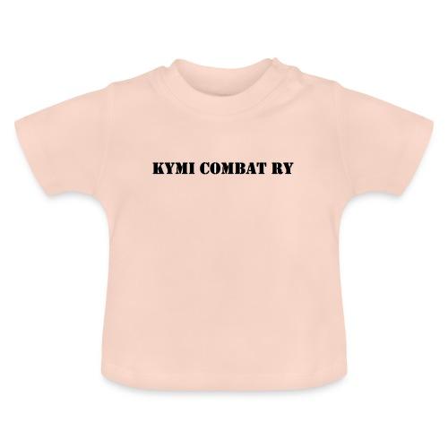 kc musta teksti transparent png - Vauvan t-paita