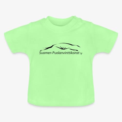 SUP logo musta - Vauvan t-paita