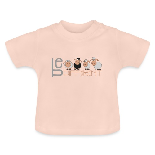 Kleine Be different Schafe - Einzigartig & anders - Baby T-Shirt