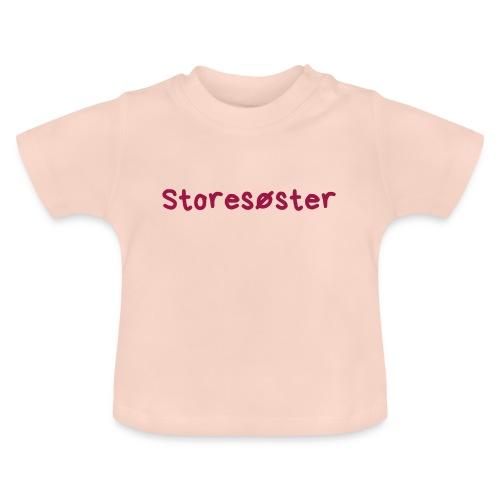 Storesøster - Baby-T-skjorte