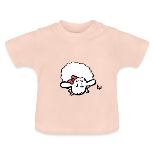 Vauvan karitsa (vaaleanpunainen) - Vauvan t-paita