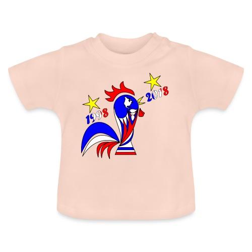 coupe du monde football 2018 mondial France 2018 - T-shirt Bébé