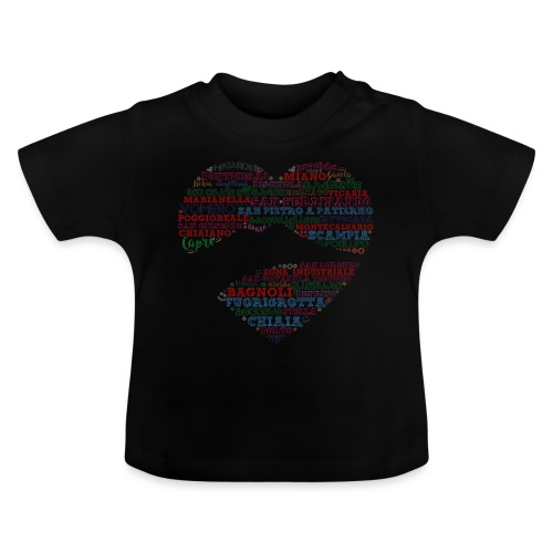 I Luoghi di Napoli di CuordiNapoli - Maglietta per neonato